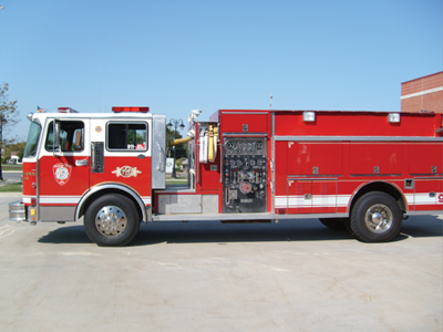 Used Fire Trucks For Sale >> City S Used Fire Truck Oklahoma Bound News For Fenton Linden