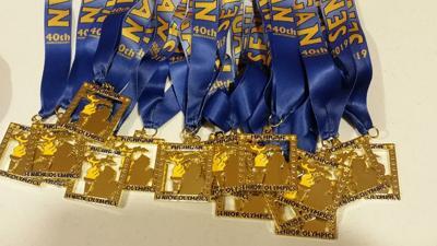 Michigan Senior Olympic Medals