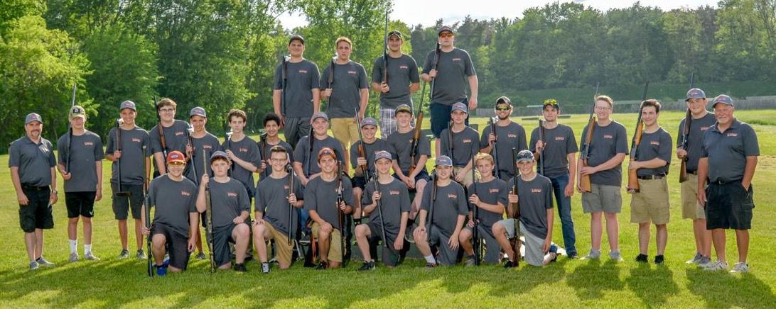2017-18 Fenton trap shooting team