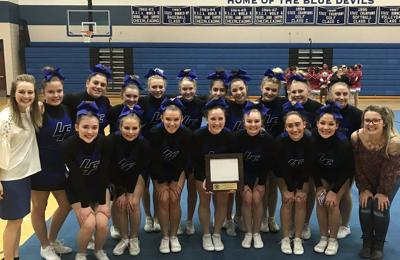 Lake Fenton competitive cheer