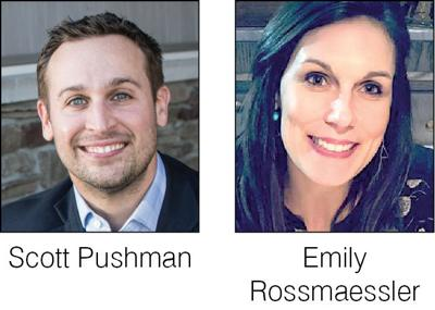 Meet Scott Pushman and Emily Rossmaessler