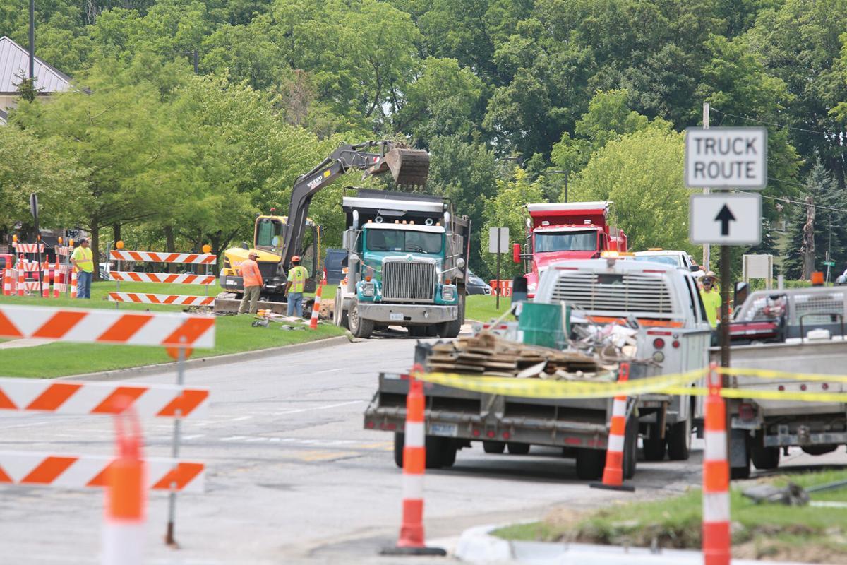 Silver Lake Road Construction 1.JPG