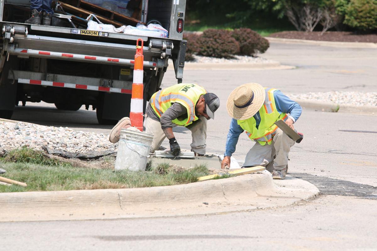 Silver Lake Road Construction 7.JPG