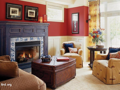 Painting a room is the quickest, most affordable way to change or improve a room  in your house.