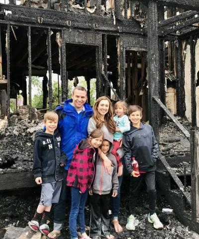 5-26 Wes Morris and family after fireC_COURTESY PHOTO1.jpg