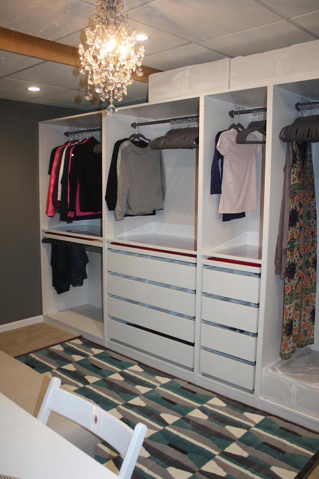 High Quality Melanie Rockmanu0027s New Closet Was Created From A Spare Bedroom And Outfitted  With A Closet Organizing