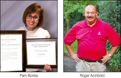 Pam Bunka and Roger Archbold
