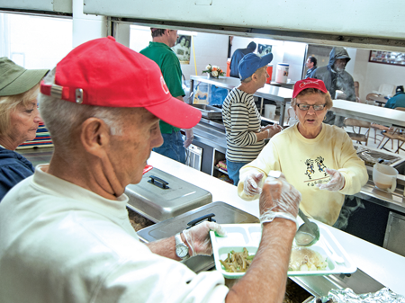 Hungry Kids And Fewer Volunteers At Soup Kitchen News For Fenton Linden Holly Mi Tctimes Com