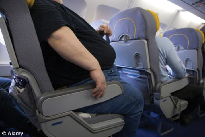 Our butts are getting bigger as airline seats are getting smaller ...