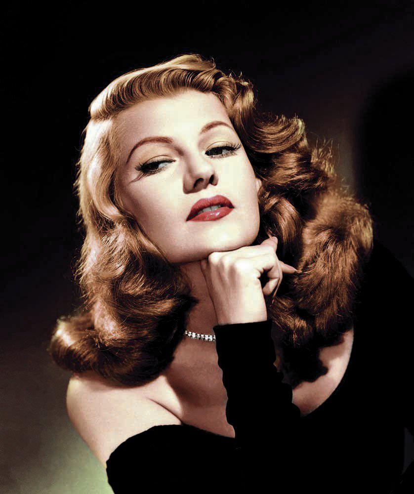 Rita Hayworth color