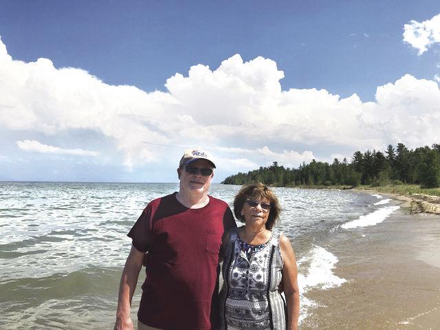 Dan_Ann Barker on beach in Cheboygan C.jpg