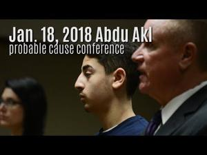 Abdu Akl in court for Jan 18 probable cause conference