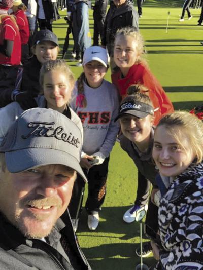 Fenton girls golf