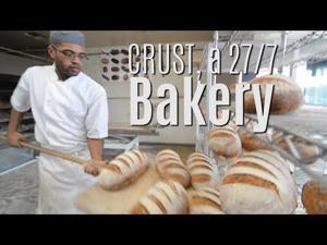 CRUST — a 24/7 baking machine