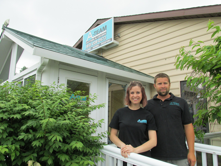 A Team Gutters Businesses In Fenton Linden And Holly Mi