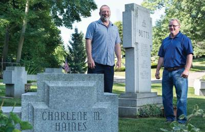 Brothers Matthew Butts and Michael Butts are the third generation of the Butts family running Fenton Memorials, which has been in Fenton since 1946.
