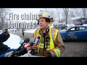 Two adults, two children die in Rose Township fire