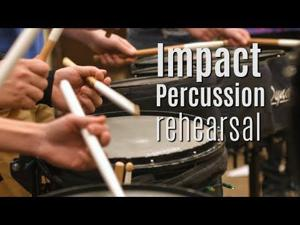 Winter time drumming — Impact Percussion