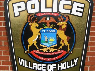 Holly Police logo