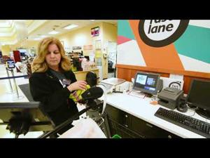 How Fast Lane grocery shopping works