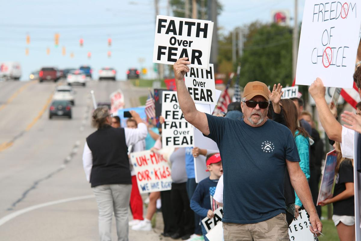 Fenton Mask Protest September 10 1.JPG