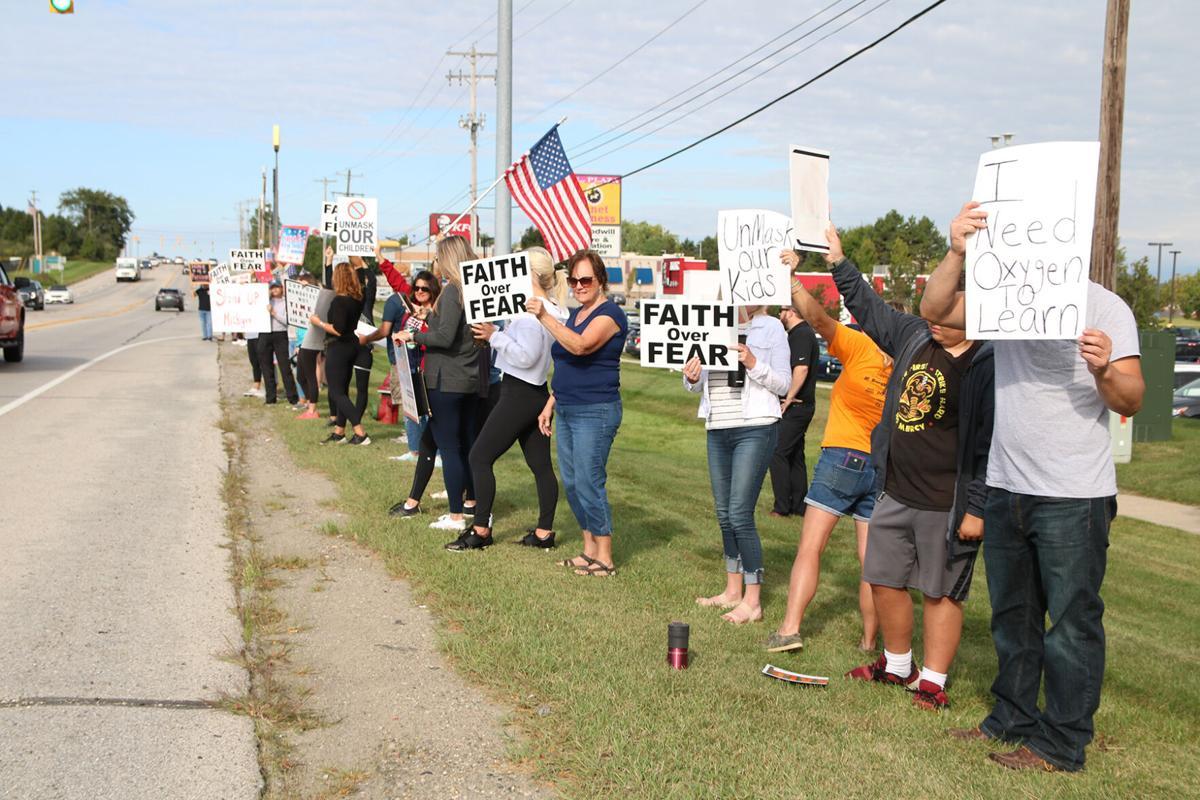 Fenton Mask Protest September 10 2.JPG