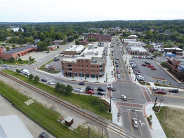 This Photo Of Downtown Fenton Was Captured By Times Staffer Fred Moses On Sept 22