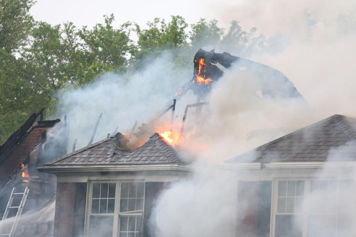 Lake Farms Court fire May 27 1