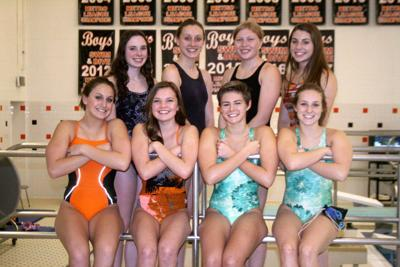 Fenton's varsity girls swim team will be competing at the Division 2 state meet, starting on Friday.