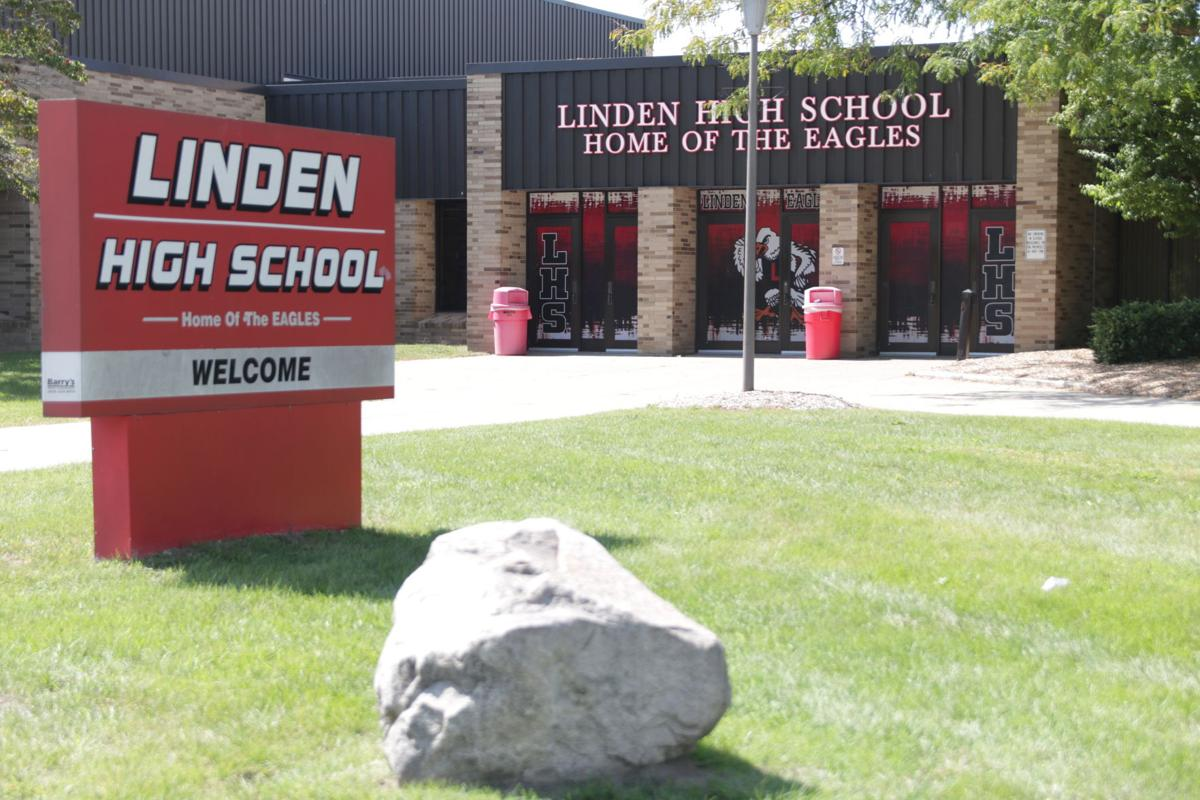 Linden High School building