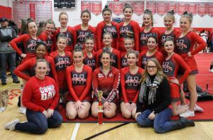Holly competitive cheer