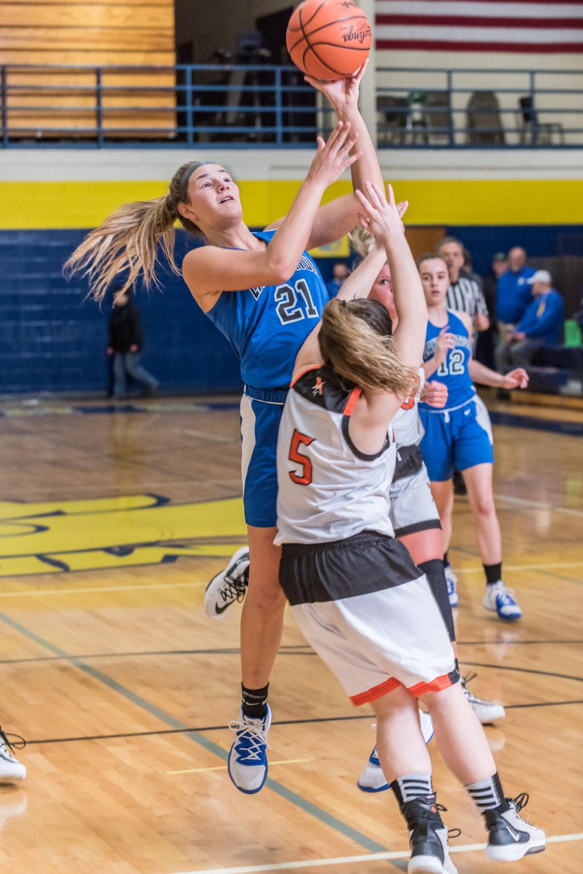 Lake Fenton girls basketball