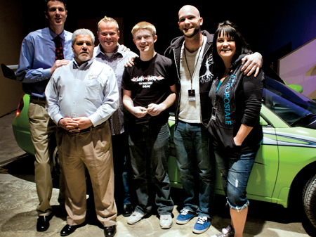 Randy Wise Fenton >> Teen wins car donated from local businesses | Tri-County