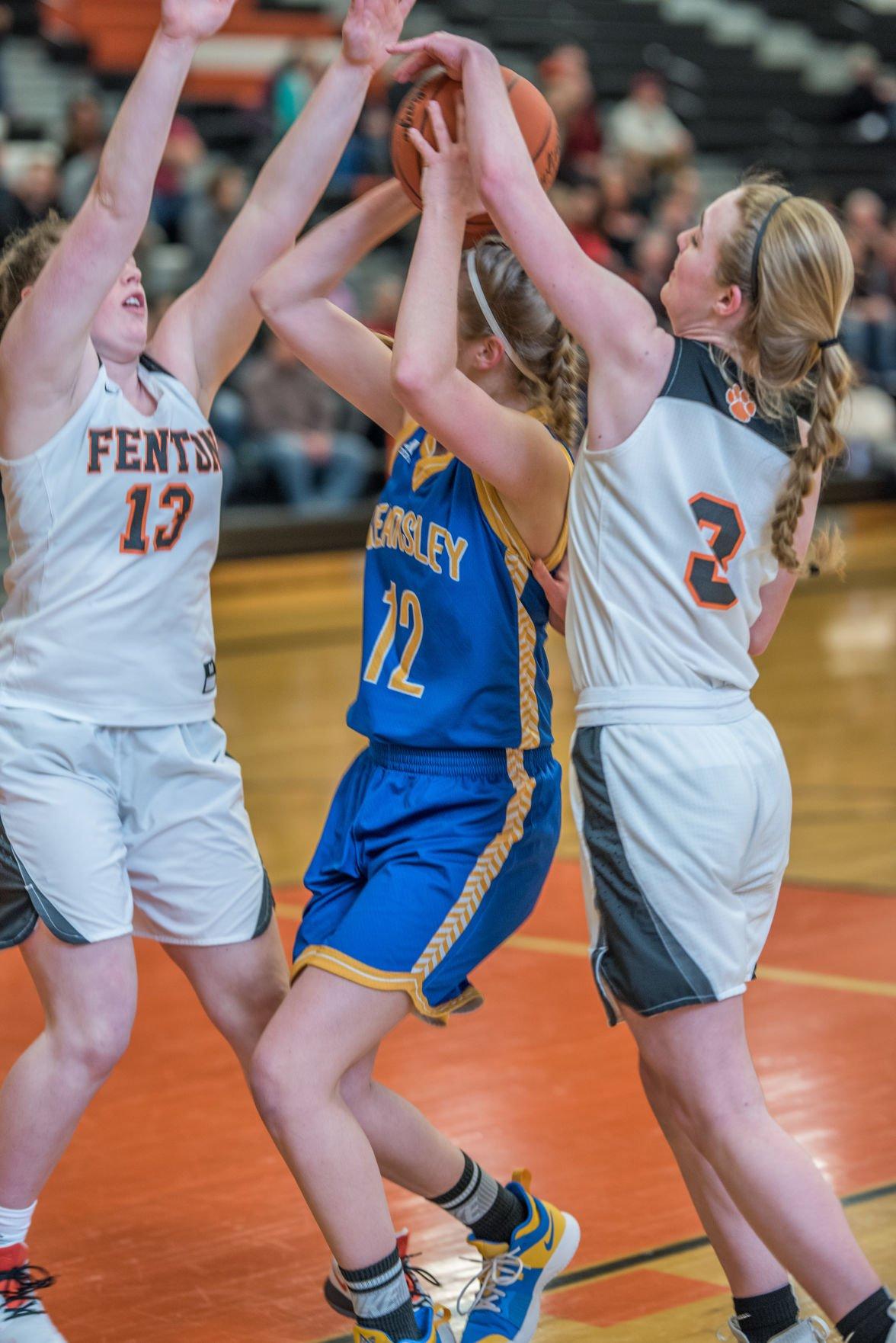 Fenton girls basketball