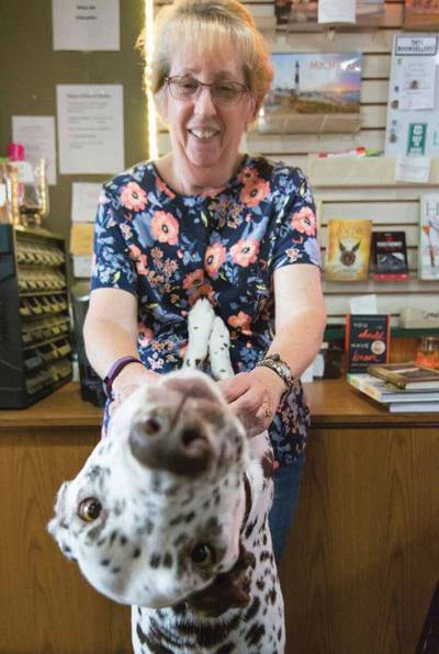 Karen Piacentini and  her dog.jpg