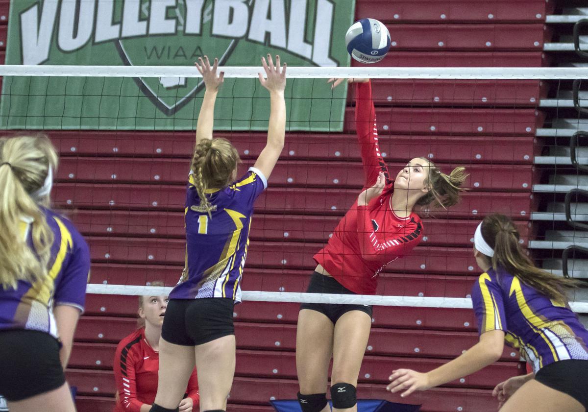 Castle Rock volley