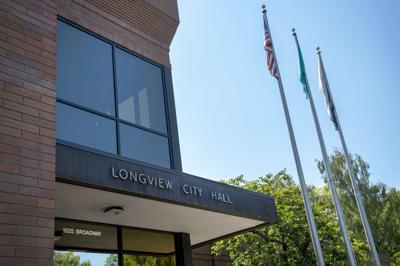 Longview City Hall stock