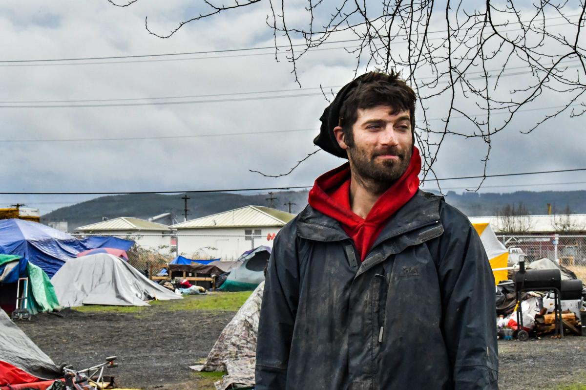Alabama Street homeless campsite