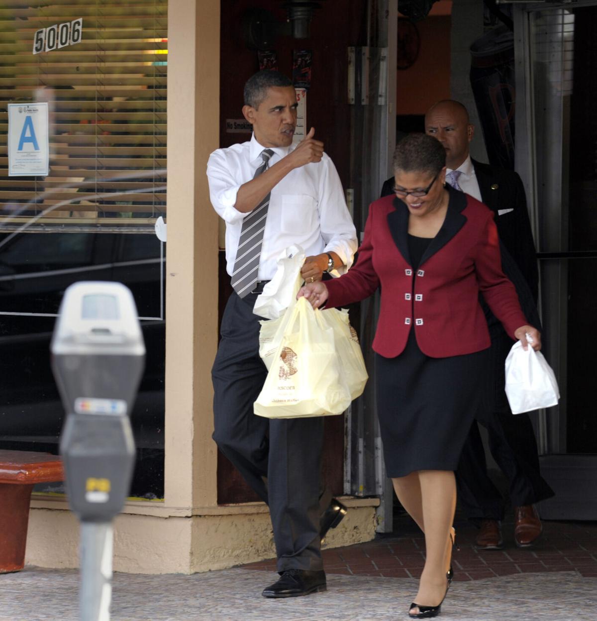 Barack Obama, Karen Bass