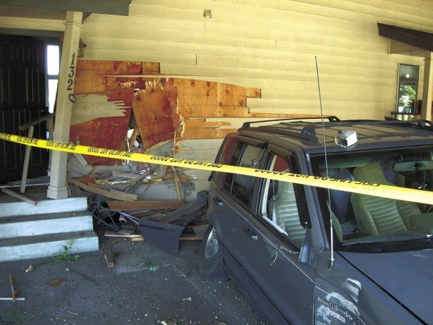 Carport crash