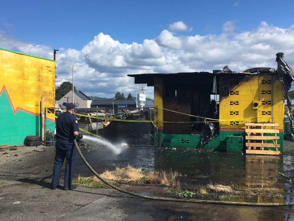 Triangle Motors fire investigation