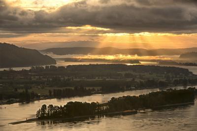 Bradley Hill sunrise
