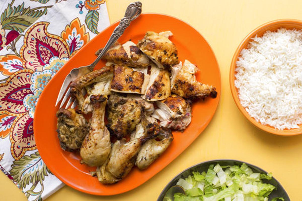 Chicken piri piri - horizontal