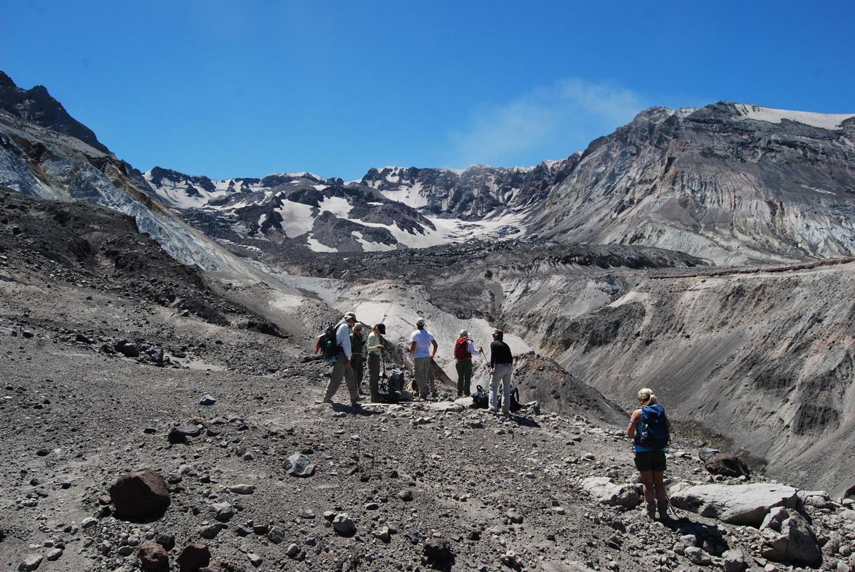 Mount St. Helens north climb
