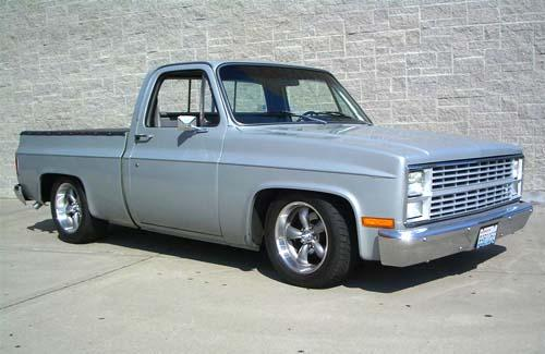 People and Their Wheels: Ed LaFave's 1983 Chevrolet pickup ...