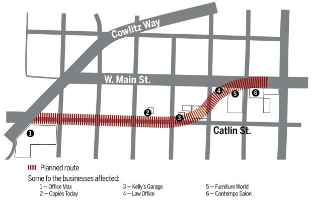 West Main Project: Kelso To Pay $2.4 Million For Furniture World Property