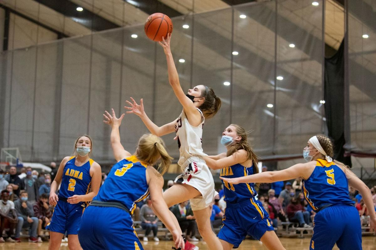 Marina Smith layup Toledo Basketball