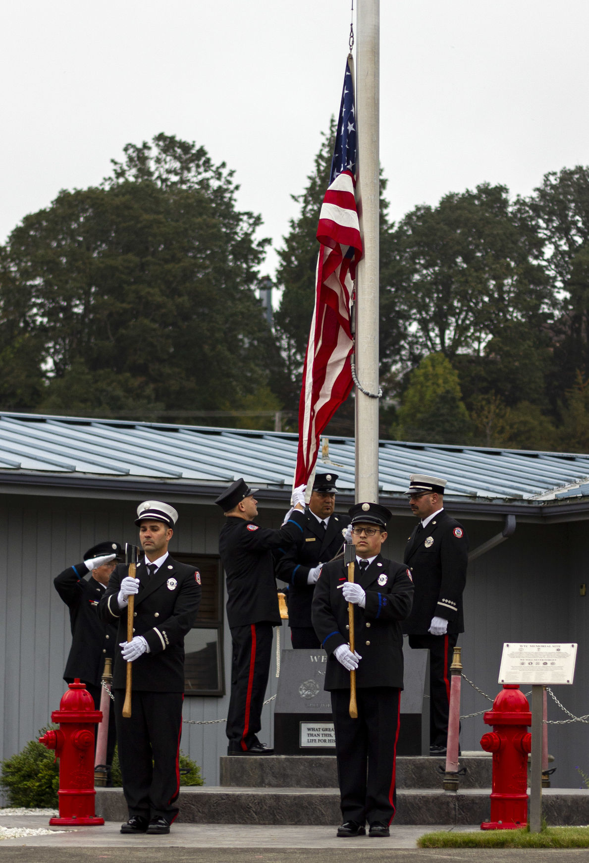 Cowlitz 2 Fire & Rescue holds morning 9/11 ceremony
