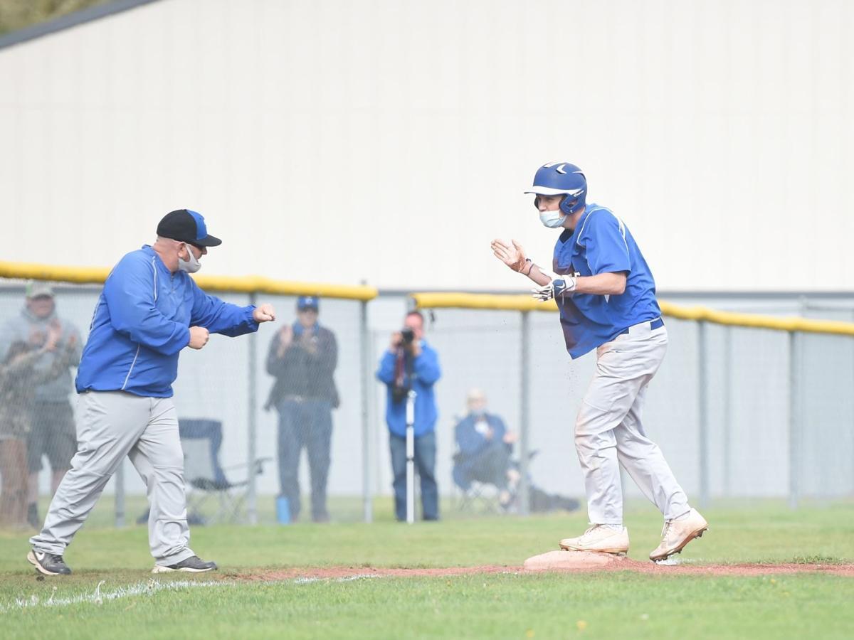 Ryder Moss and Jerry Johnson Toutle Lake baseball