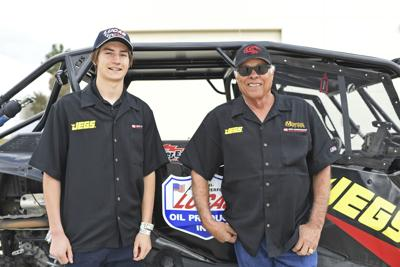 Snake And The Kid Auto Racing
